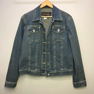 Fresh Produce Stretch Denim Jacket Jean Small